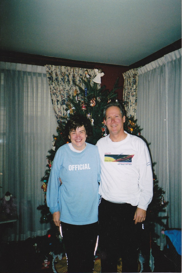 Ann and Mark in 2006