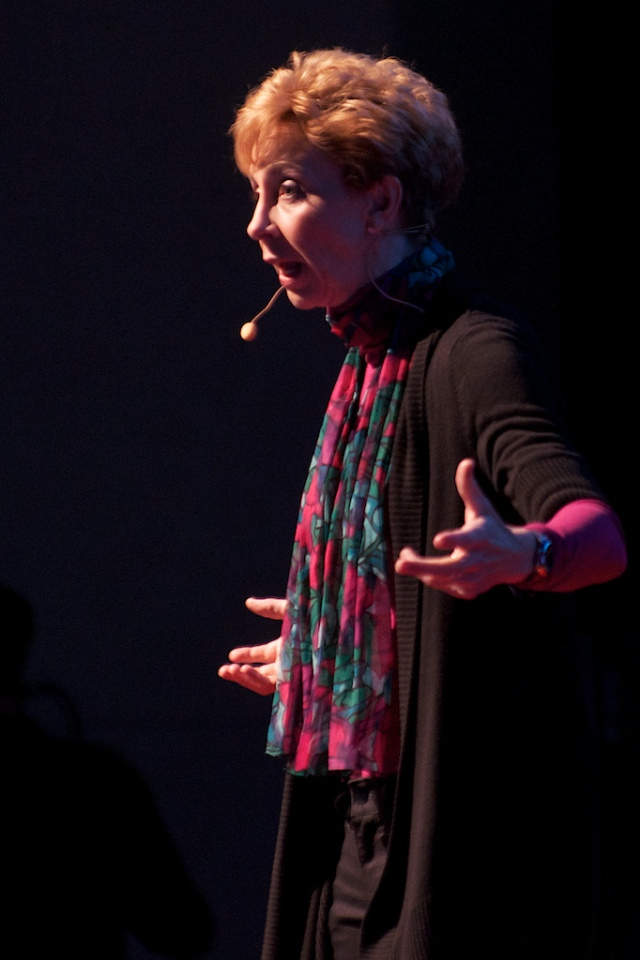 Life Coach Martha Beck 2011 https://www.flickr.com/photos/tedxsandiego/6461289437/